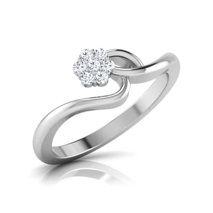 Meandering Blossom Diamond Ring