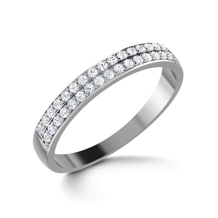 Dainty Sparkle Diamond Band