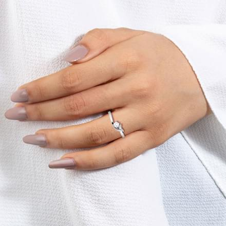 Together Platinum Ring