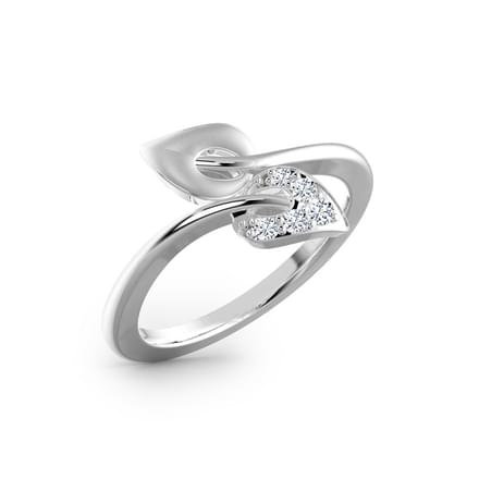 Confetti Platinum Ring