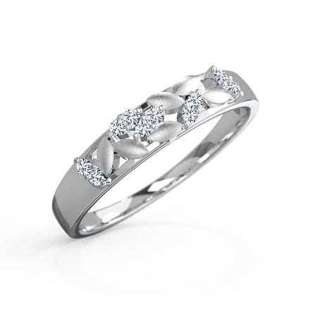 Zealous Platinum Ring