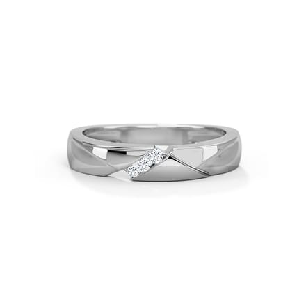 Frida Platinum Ring for Women