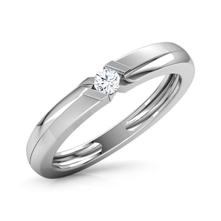 ab3b84378b4 Justin Platinum Ring for Men Jewellery India Online - CaratLane.com