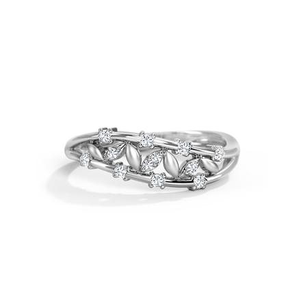 Inspira Platinum Ring