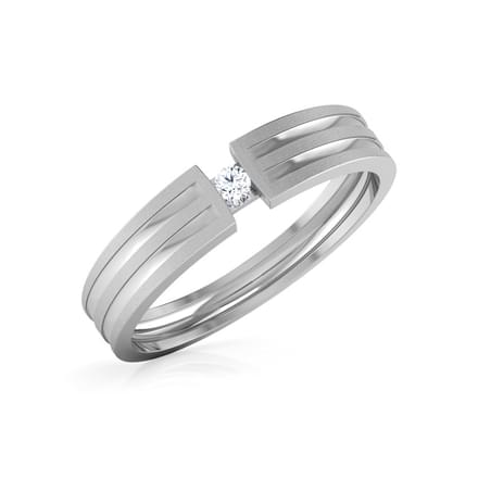 Leos Platinum Ring for Men
