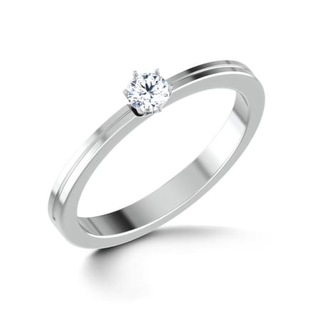 Eva Platinum Ring