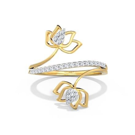 Lotus Blossom Ring Jewellery India Online Caratlane Com