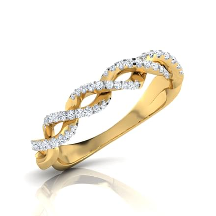 Spring Entwine Diamond Band