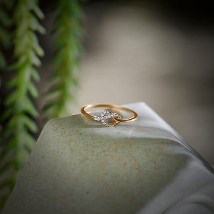Silvia Love Knot Ring Jewellery India Online Caratlane Com