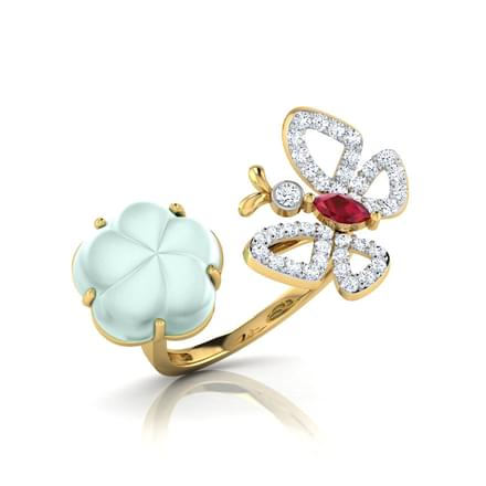Helsy Bloom and Butterfly Ring