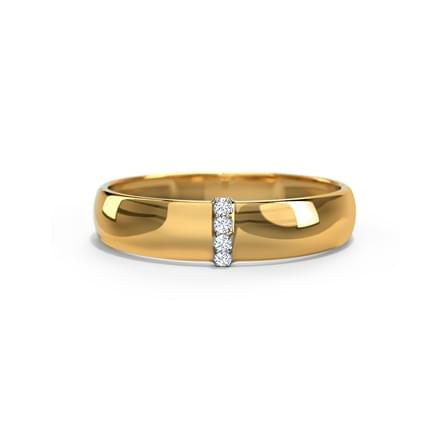 Pyramus Diamond Band for Him