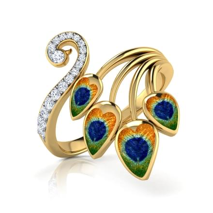 Finesse Peacock Ring