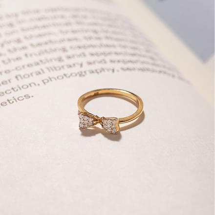 cute bow ring jewellery india online caratlanecom