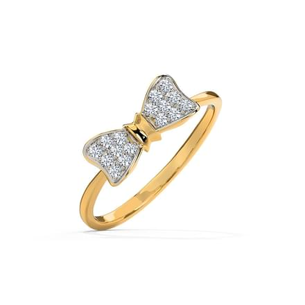 cute bow ring jewellery india online caratlanecom