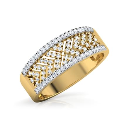 Chevron Diamond Band