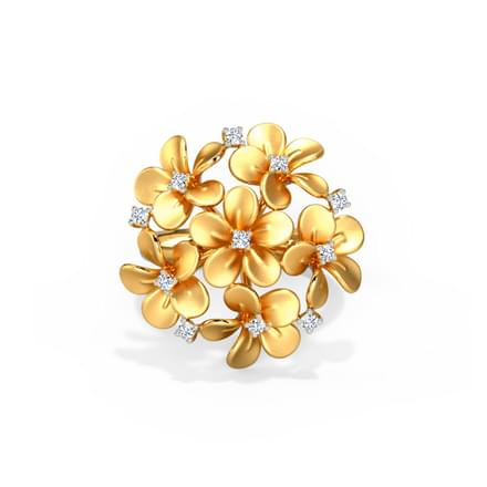 diamond yellow gold rings ring gh floral in color cttw clarity