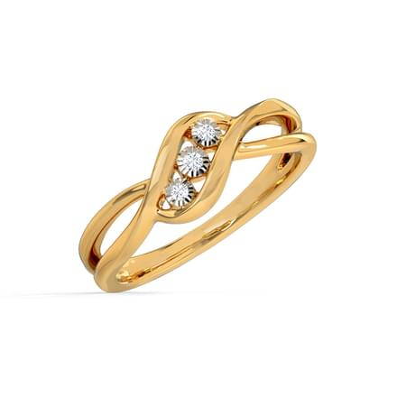 Trio Miracle Plate Ring