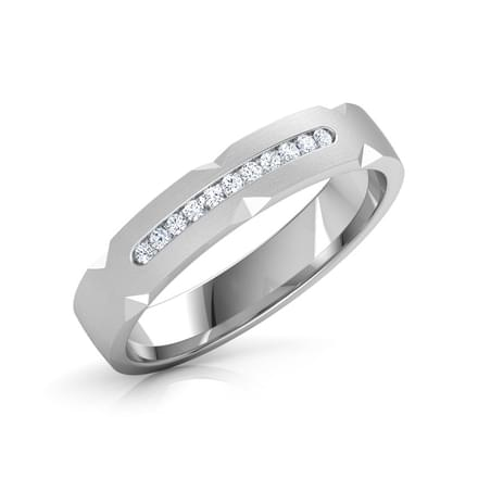 Elizabeth Platinum Band for Her