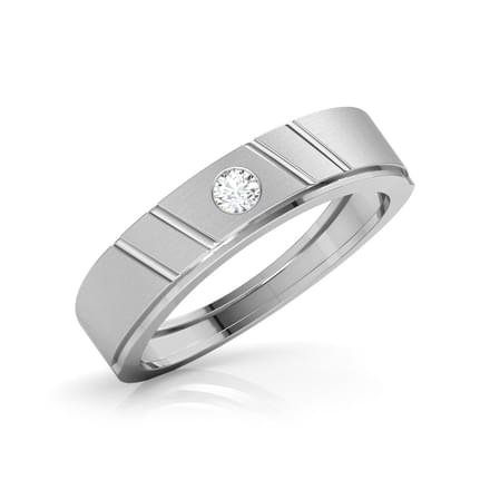 Scarlett Platinum Band for Her