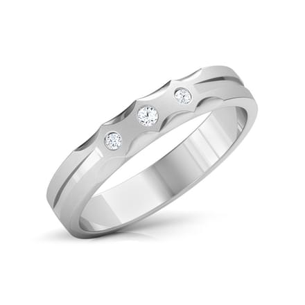 Estella Platinum Band for Her