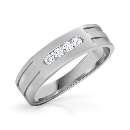 Thomas Platinum Band for Him