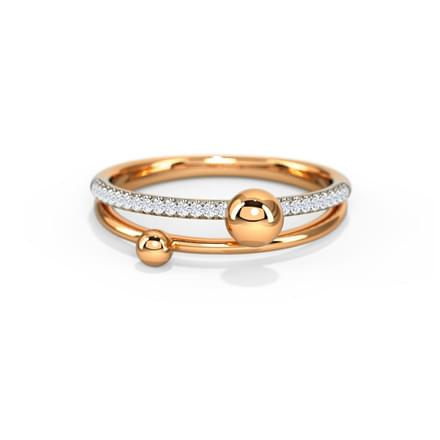 Dewdrops Linear Ring