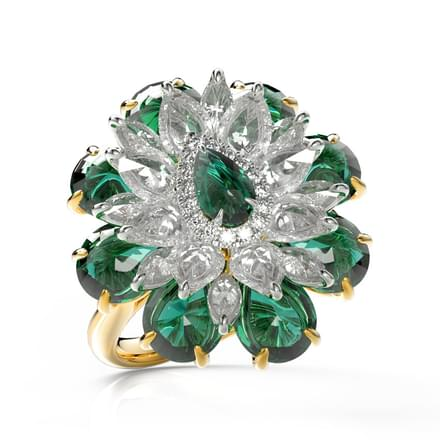 Alfiya Bloom Ring