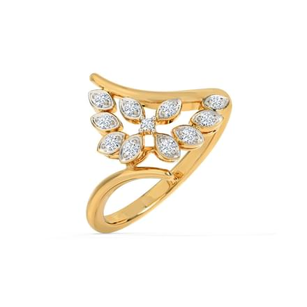 Brilliant Petals Ring