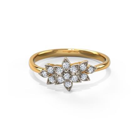 Glistening Petals Ring