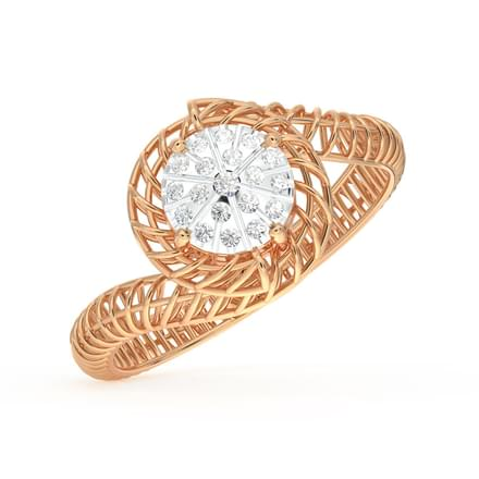 Twine Mesh Cluster Ring