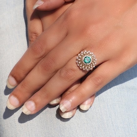 Ornate Cocktail Ring