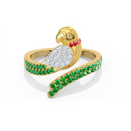 Lovely Parrot Ring
