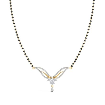 Tithi Diamond Mangalsutra