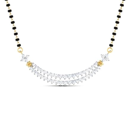 Marga diamond mangalsutra jewellery india online caratlane marga diamond mangalsutra aloadofball Gallery