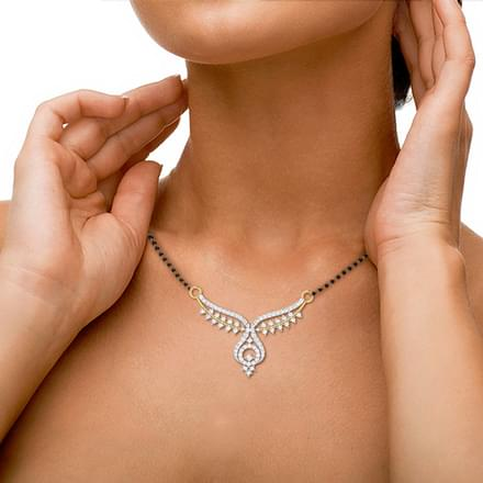 Ajaya V-Shaped Mangalsutra