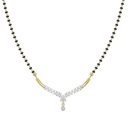 127 diamond mangalsutra price starting rs 17106 tanya mangalsutra tanya mangalsutra aloadofball Images