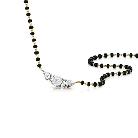 Shreya Miracle Plate Diamond Mangalsutra