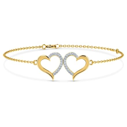 Kissing Heart Bracelet