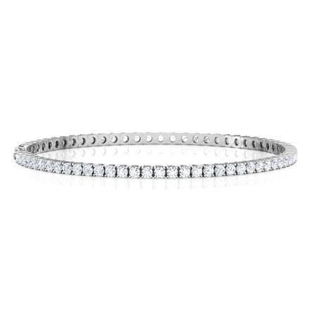 Stellar Tennis Bracelet Jewellery India line CaratLane