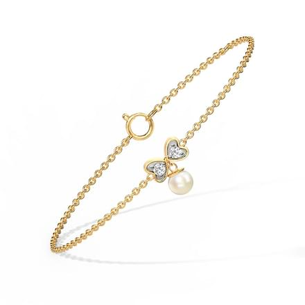 Daria Bow Drop  Bracelet