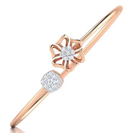 Crocus Bracelet Jewellery India line CaratLane