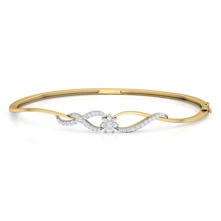 Petite Diamond Cluster Bracelet Jewellery India line CaratLane
