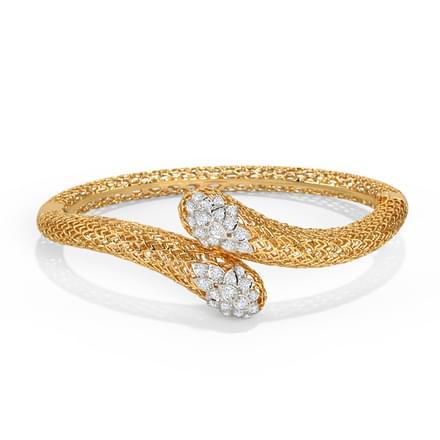 Bhoma Leaf Bracelet Jewellery India line CaratLane