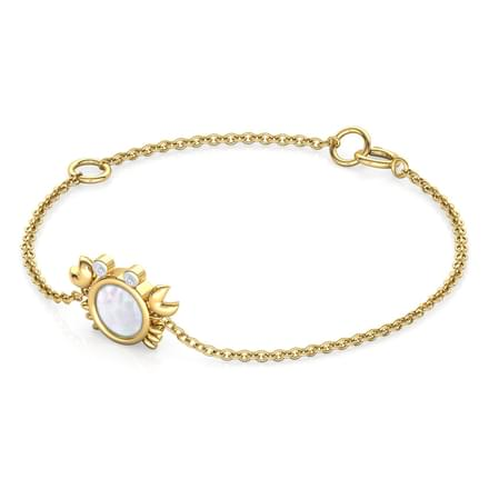 Crab Mother of Pearl Kids Bracelet