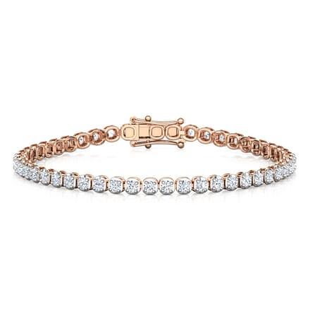 d7e2ffe8b Shimmer Classic Tennis Bracelet Jewellery India Online - CaratLane.com