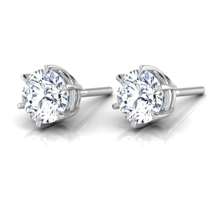 Six-Prong Solitaire Stud mounts