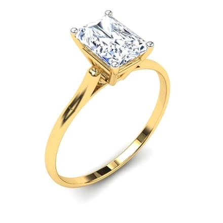 Charm Solitaire Ring Mount