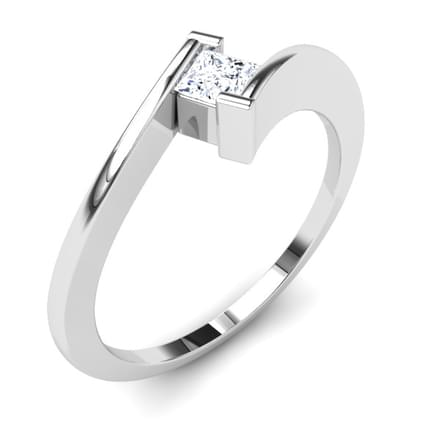 Metro Princess Solitaire Ring Mount