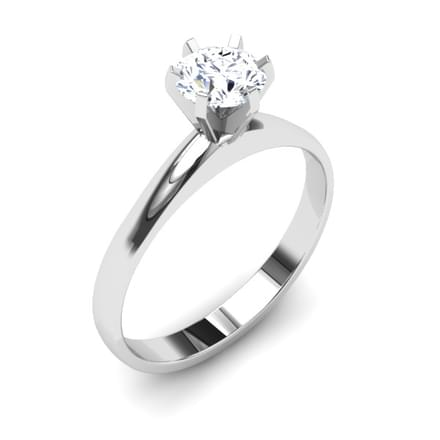 Solitary Solitaire Ring Mount