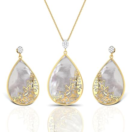 Sirius Mother of Pearl Matching Set